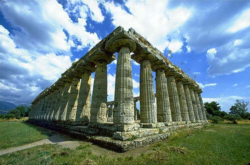 Ruins of Paestum, Italy - Photo by Martin Gray - click photo for Sacred Sites Website